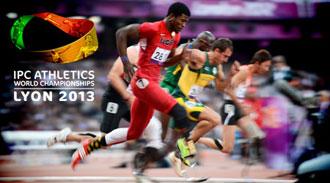 Чемпионат Мира 2013 IPC по легкой атлетике 2013. Лион (Франция)